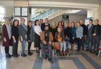 ENGELLİ RAMPASI - Kadınlar Birliği, Engellilerin Yanında