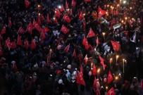 Karabük Üniversitesi'nde Binler Kudüs İçin Yürüdü