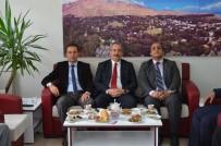 ARİF KARAMAN - Kaymakam Akgül'den Başkan Gürsoy'a Ziyaret