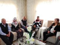 MERAL UÇAR - Kaymakam Uçar'dan Kazgan Ailesine Ziyaret