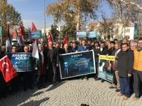 ÜMMET - Konya'da Kudüs Protestosu