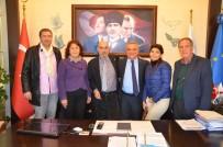 BELEDİYE MECLİS ÜYESİ - Kuşadası Belediyesi'ne Kardeş Şehir Projesi Kapsamında Ziyaret