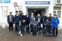 ALI ÇELIK - Müftülük Engellilere Tekerlekli Sandalye Ve Baston Hediye Etti
