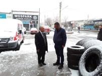 SANAYİ SİTESİ - Niğde Belediye Başkanı Özkan Sanayi Esnafını Ziyaret Etti