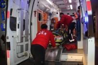 HARRAN ÜNIVERSITESI - Şanlıurfa'da Trafik Kazası Açıklaması 2 Yaralı