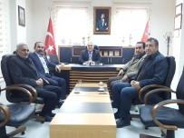 SANAYİ SİTESİ - STK Temsilcileri Emniyet Müdürü Avan İle Bir Araya Geldi