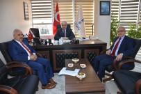 İLLER BANKASı - TESKİ, İller Bankası Teftiş Kurulu Başkanını Makamında Ağırladı