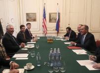 DIŞİŞLERİ BAKANLARI - Tillerson Ve Lavrov Viyana'da Bir Araya Geldi