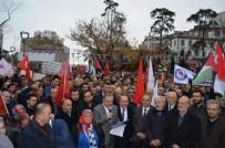 ATATÜRK ANITI - Trabzon'da STK'lardan 'Kudüs' Protestosu