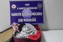YOLCU OTOBÜSÜ - Uşak'ta 1 Kilo Metamfetamin Yakalandı