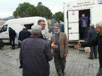 Vezirhan Belediyesi Ve TÜVTÜRK İşbirliğinde Traktör Muayenesi