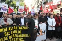 KEMERALTı - Adana'da 'Kudüs' Protestosu