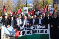 DEMOKRASİ PARKI - Adıyaman'da Kudüs Eylemi