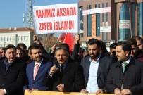MUZAFFER ASLAN - AK Parti Teşkilatından Kudüs Protestosu