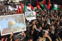 İSRAIL BAYRAĞı - Amman'da Onbinler Kudüs İçin Eylem Yaptı