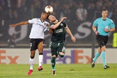 Atiker Konyaspor Avrupa'ya veda Etti