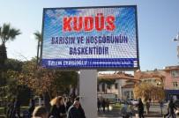 Aydın'da Yürekler Kudüs'le Atıyor
