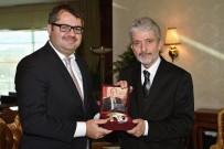 AZERBAYCAN - Başkan Tuna, Büyükelçileri Ağırladı