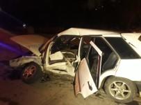 YAHYALAR - Başkent'te Trafik Kazası