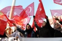 Bursa'da Binlerce Kişi Kudüs İçin Ayağa Kalktı