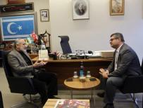 BAKIŞ AÇISI - Cumhurbaşkanı Başdanışmanı Topçu, Azerbaycan Ankara Büyükelçisi İbrahim İle Bir Araya Geldi