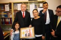 ALEKSİS ÇİPRAS - Cumhurbaşkanı Erdoğan, Celal Bayar Lisesi'ni Ziyaret Etti