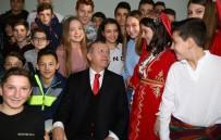 ALEKSİS ÇİPRAS - Cumhurbaşkanı Erdoğan'dan Celal Bayar Lisesi'ne Ziyaret