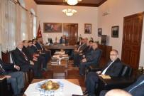 ALI SıRMALı - Edremit'te Çalışmalar Ve Kamu Yatırımları Masaya Yatırıldı