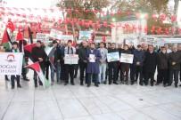 EYÜP SULTAN - Eyüp Sultan'da ABD'nin Kudüs Kararına Tepki