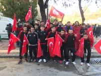 Gaziantepspor'dan Türk Bayraklı Kudüs Tepkisi