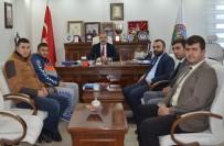 SU SPORLARI - GKY-DER'den Başkan Gürsoy'a Ziyaret