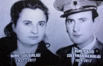 ASKERİ TÖREN - Kore Gazisi Süleyman Dilbirliği Ve Eşi Nimet Dilbirliği Son Yolculuklarına Uğurlandı