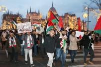 BUDAPEŞTE - Macaristan'da Trump Ve İsrail Protestosu