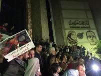 MÜZAKERE - Mısırlı Gazeteciler Trump'ın Kudüs Kararını Protesto Etti
