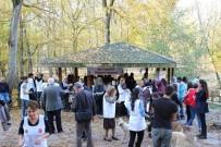 BELGRAD ORMANı - Öğrenci Ve Öğretmenler, 'Spor Diyabeti Yener' Sloganıyla Belgrad Ormanı'nda Koştu