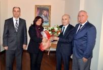 Özel Halk Otobüsleri Birliği Başkanı Yüksel'den Çerçioğlu'na Ziyaret