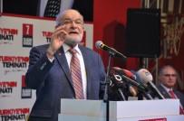 SAADET PARTISI GENEL BAŞKANı - Saadet Partisi Genel Başkanı Karamollaoğlu Açıklaması 'Biz Kudüs'ten Vazgeçemeyiz'