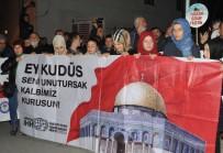 ASKERLİK ŞUBESİ - Sivil Toplum Kuruluşlarından 'Kudüs' Tepkisi