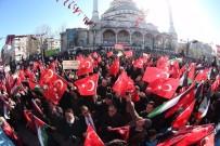 SULTANGAZİ BELEDİYESİ - Sultangazi'de ABD'nin Kudüs Kararına Protesto