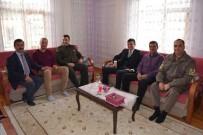 ASKERLİK ŞUBESİ - Terör Saldırısında Yaralanan Askere Ziyaret