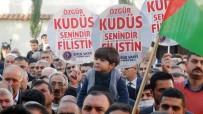 SARıCAN - Trump'ın Kudüs Kararı Osmaniye'de Protesto Edildi