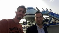Uçak'ta 'Geçmiş Olsun' Sürprizi