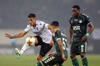 AURELIO - UEFA Avrupa Ligi Açıklaması Vitoria Guimaraes 0 - Atiker Konyaspor Açıklaması 1 (İlk Yarı)
