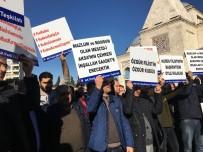 Zeytinburnu'nda 'Kudüs' Protestosu