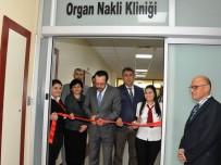 Aydın'da Organ Nakli Kliniği Hizmete Açıldı