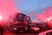 ERKILET - Beşiktaş Kafilesine Coşkulu Karşılama