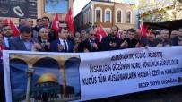SELAHADDIN EYYUBI - Çaycuma'da Yüzlerce Vatandaş  Kudüs'e Destek İçin Bir Araya Geldi