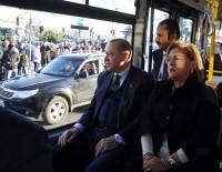SABANCı HOLDING - Cumhurbaşkanı Erdoğan Elektrikli Otobüse Bindi