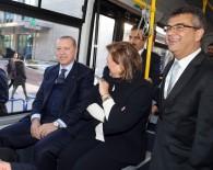 SABANCı HOLDING - Cumhurbaşkanı Erdoğan Elektrikli Otobüsle Mabeyn Köşkü'ne Gitti