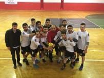 DICLE ÜNIVERSITESI - Dicle Üniversitesi Hentbolda Şampiyon Oldu